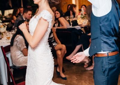 Bride and Groom Spinning